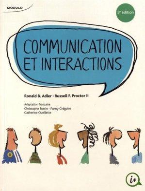 Communication et interactions - modulo (canada) - 9782897320072 -