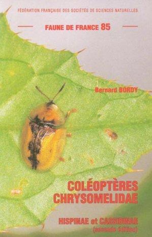 Coléoptères Chrysomelidae - federation francaise des societes de sciences naturelles - 9782903052317 -
