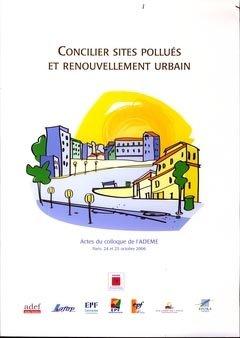 Concilier sites pollués et renouvellement urbain - adef - 9782905942425 -
