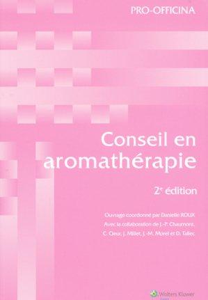 Conseil en aromathérapie - wolters kluwer - 9782909179643 -