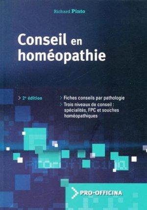 Conseil en homéopathie - wolters kluwer - 9782909179728 -