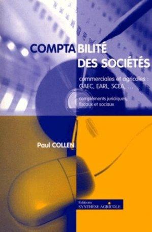 Comptabilité des sociétés commerciales et agricoles - synthèse agricole - 9782910340315 -