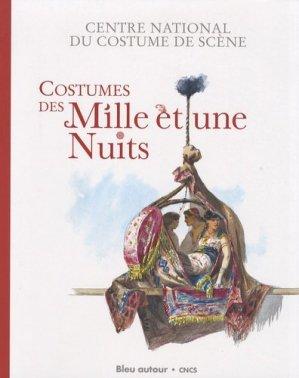 Costumes des Mille et une Nuits - Bleu autour - 9782912019882 -