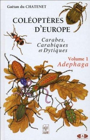 Coléoptères d'Europe Volume 1 Adephaga - nap - 9782913688056 -