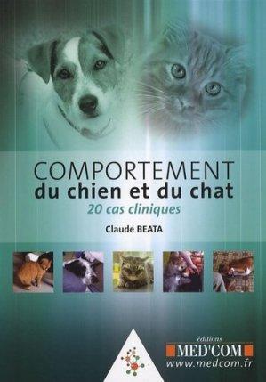 Comportement du chien et du chat - med'com - 9782914738996 - majbook ème édition, majbook 1ère édition, livre ecn major, livre ecn, fiche ecn
