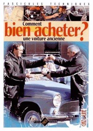 Comment bien acheter une voiture ancienne ? - hb publications - 9782917038413 -
