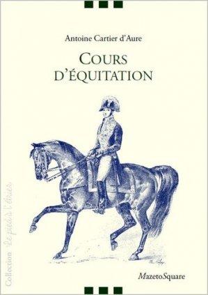 Cours d'équitation - mazeto square - 9782919229420 -