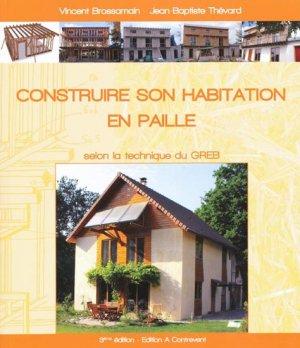 Construire son habitation en paille - a contrevent - 9782952515825 -