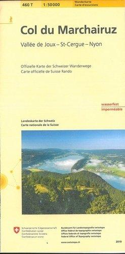 Col du Marchairuz - Bundesamt Fur Landestopographi - 9783302304601 -