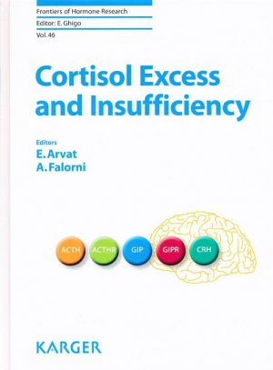 Cortisol Excess and Insufficiency - karger  - 9783318058390 -