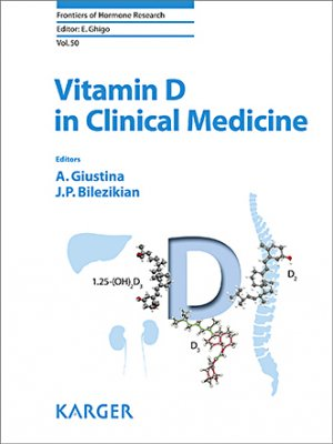 Cover Vitamin D in Clinical Medicine - karger  - 9783318063387 -