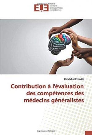 Contribution à l'évaluation des compétences des médecins généralistes - Omniscriptum - 9786139519835 -