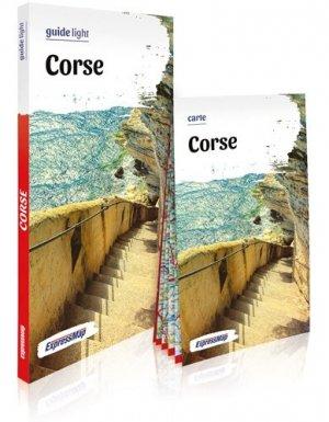 Corse. Avec 1 Plan détachable - Express Map - 9788381901871 -