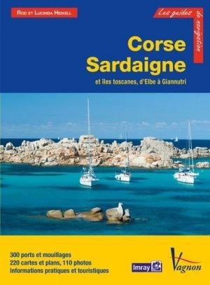 Corse, Sardaigne et îles toscanes, d'Elbe à Giannutri - vagnon - 9791027100477 -