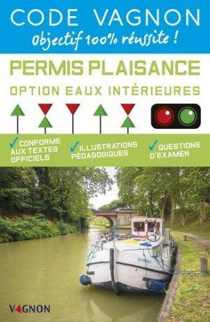 Code permis plaisance option eaux intérieures - vagnon - 9791027100903 -