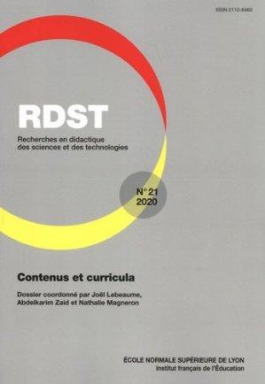 Contenus et curricula - Ecole Normale Supérieure - 9791036202193 -
