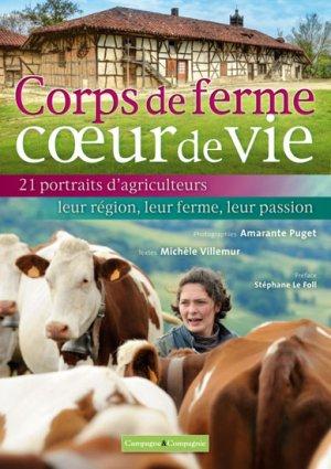 Corps de ferme coeur de vie - campagne et compagnie - 9791090213159 -