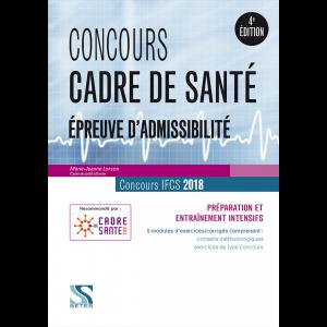 Concours cadre de santé 2018 - setes - 9791091515702 -