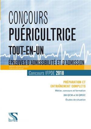 Concours puéricultrice tout-en-un - setes - 9791091515733 -