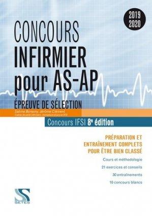 Concours Infirmier pour AS-AP 2019 - setes - 9791091515818 -