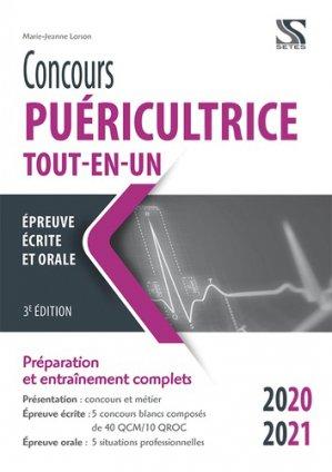 Concours puéricultrice Tout-en-un 2020-2021 - setes - 9791091515924 -