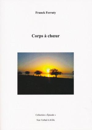 Corps à choeur - du non verbal - 9791093532158