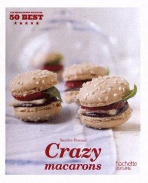 Crazy macarons - Hachette - 9782012384040 -