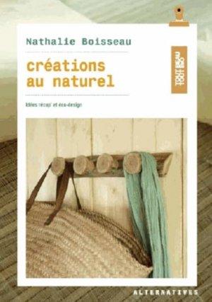 Créations au naturel - alternatives - 9782072548291 -