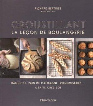 Croustillant. La leçon de boulangerie - Flammarion - 9782081379305 -