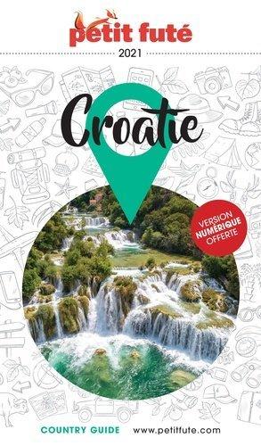 Croatie 2021 Petit Futé - nouvelles editions de l'universite petit futé - 9782305054896 -