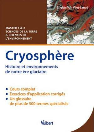 Cryosphère - vuibert - 9782311010305