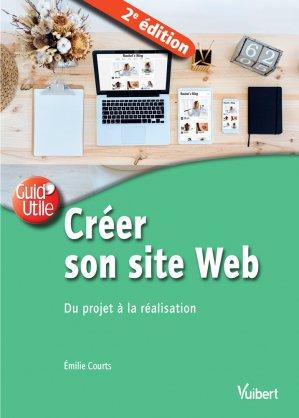 Créer son site web / du projet à la réalisation - vuibert - 9782311623062 -