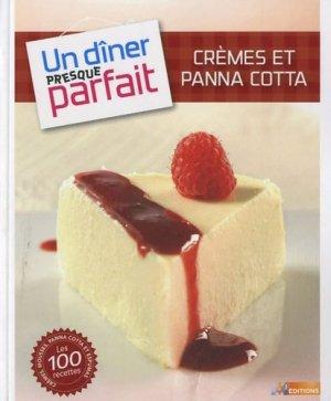 Crèmes et pana cotta - m6  - 9782359850789 -