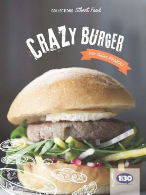Crazy burger - 1Min30 Publishing - 9782377740055 -