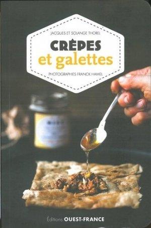 Crèpes et galettes - Ouest-France - 9782737373749 -