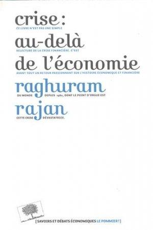 Crise : au-delà de l'économie - le pommier - 9782746506558 -