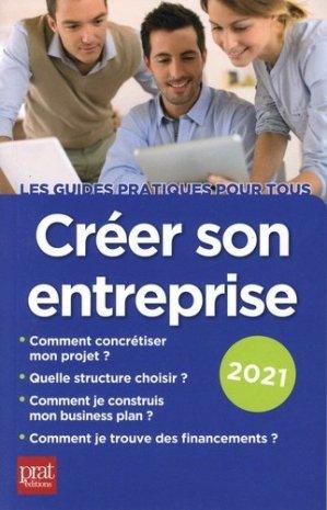 Créer son entreprise - Prat Editions - 9782809515428 -