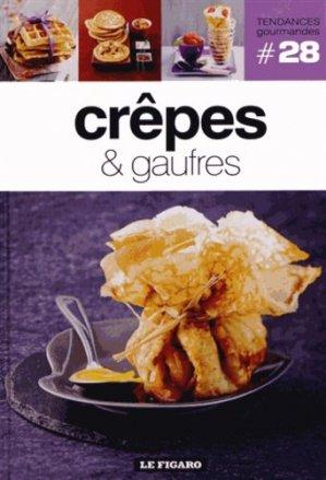 Crêpes et gaufres - le figaro - 9782810503889 -