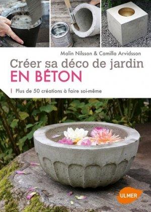 Créer sa déco de jardin en béton - ulmer - 9782841387694 -