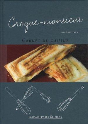 Croque-monsieur - Romain Pages - 9782843503986 -