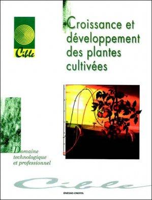 Croissance et développement des plantes cultivées - educagri - 9782844444059 -