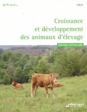 Croissance et développement des animaux d'élevage - educagri - 9782844447890 -