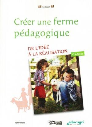 Créer une ferme pédagogique - educagri - 9782844449887 -
