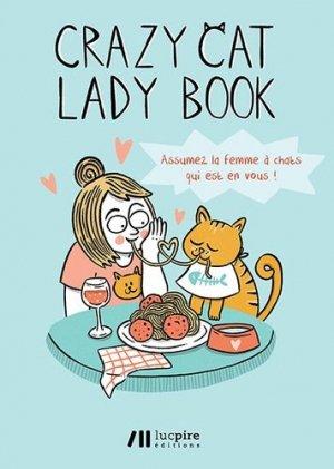 Crazy cat lady book - Luc Pire - 9782875421814 -
