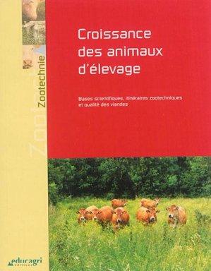 Croissance des animaux d'élevage - educagri - 9791027500116 -