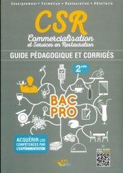 CSR Bac pro - Seconde professeur-bpi-9782857085805