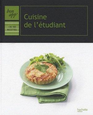 Cuisine de l'étudiant - Hachette - 9782012302334 -