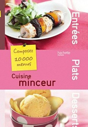 Cuisine minceur - Hachette - 9782012303034 -