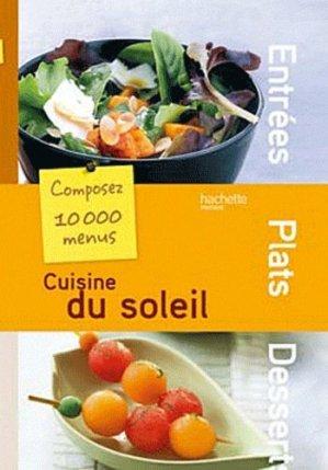 Cuisine du soleil - Hachette - 9782012303041 -