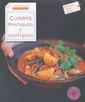 Currys pratiques & exotiques - Larousse - 9782035851888 -